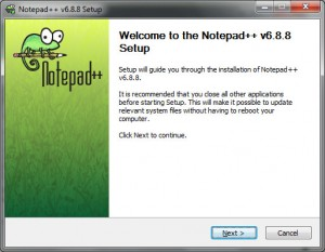 Cara Install Notepad++ - Welcome